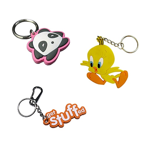 PVC Keychains, Silicone Keychains Manufacturers | TecCrafts